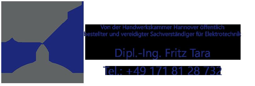 Von der Handwerkskammer Hannover öffentlich bestellter und vereidigter Sachverständiger für Elektrotechnik